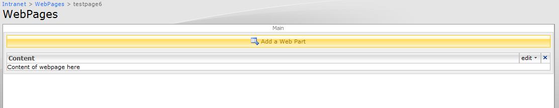contentwebpart